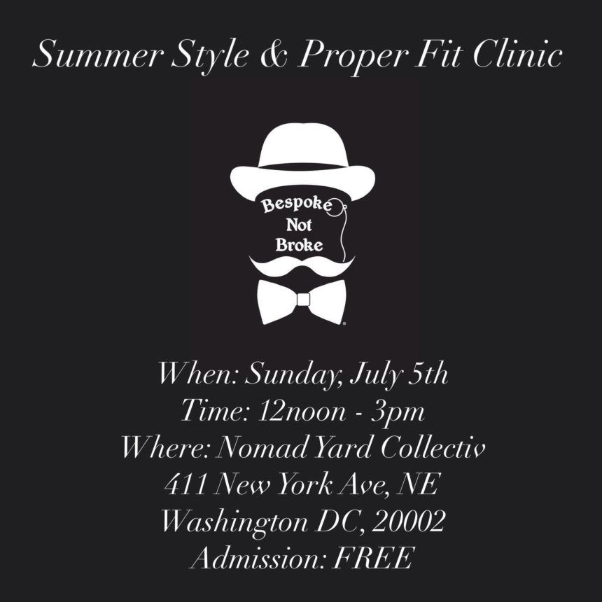 Summer Style & Proper Fit Clinic