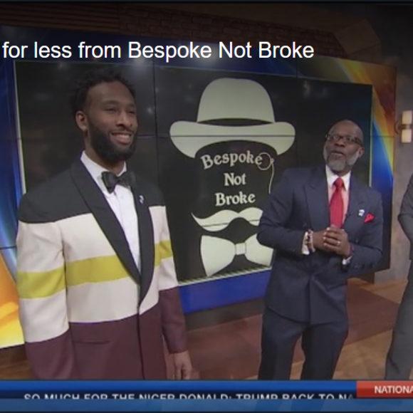 GQ styles for less from Bespoke Not Broke on Fox 5 News