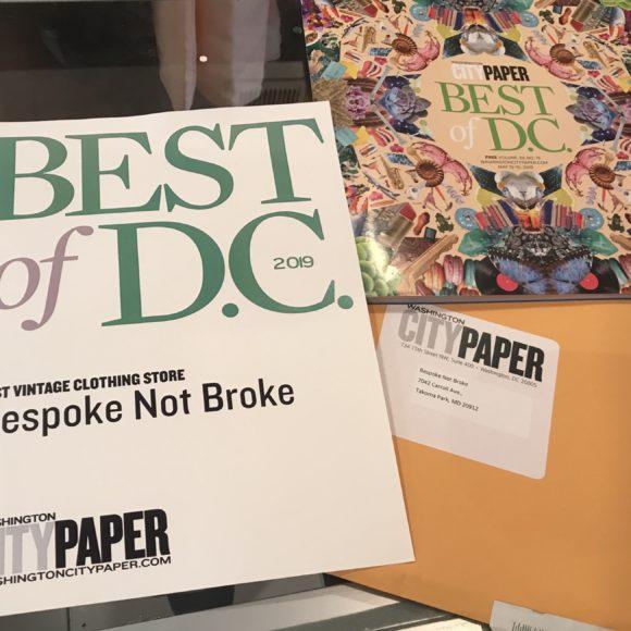 Best of DC – Vintage Clothing Store – Washington City Paper